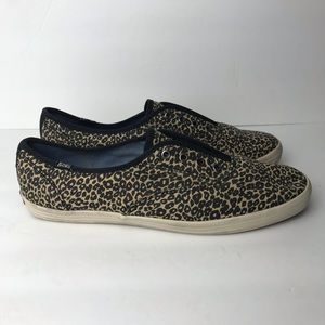 Keds leopard shoes size 8
